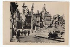 1918 PC Chateau Thierry July 1918 Ruins of Hotel de Ville Original Postcard