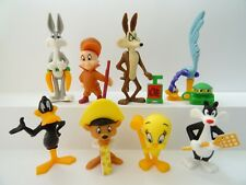 Collectible Complete Set 8 figures Looney Tunes Kinder Surprise 1997 +1 paper