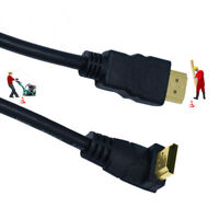 90 Degree Angle HDMI Male to HDMI Male Adapter HDMI1.4 Extender Cable 0.5m/1.5m