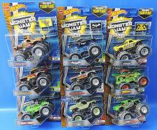 Mattel Hot Wheels / Monster Jam 25 Jahre Serie 1992-2017 / Auswahl an Cars