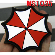 Militaria Patches Resident Evil Umberlla Logo PVC Rubber Magic Patches New Style