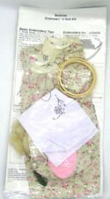 "Fibre Craft Springfield Collection Bedtime Embroidery & Sew Kit for 18"" Dolls"