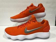 reputable site 0fbcd 2000b Nike React Hyperdunk Low Basketball Shoe Clemson Orange 942774 801 Men