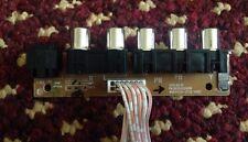 """TV AV PORT BOARD 303C4201056  MSDV4201-ZC22-01 (D) for LT-49C550 49"""" JVC TV"""