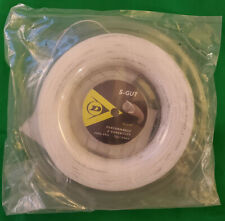 Dunlop S-Gut Synthetic Gut 17 Gauge 1.25 660' 200m Tennis String Reel White