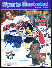 Larry Robinson Signed 1978 Sports Illustrated Montreal Psa/Dna T61440