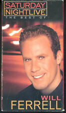 Saturday Night Live The Best of Will Ferrell VHS Cowbell James Lipton Alex Trebe