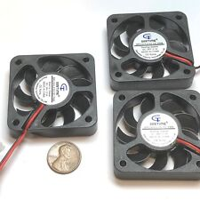 3 Pieces 5010 24V fan 50mm 5cm Extruder Cooling Heatsink Gdstime 3d printer C21