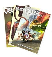Rat Queens TPB Bundle Vol 1,2,3 Graphic Novel Image Shadowline Comics (Lot of 3)