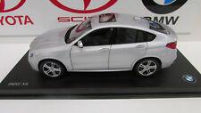 BMW X4 series F26 Glacier Silver 1/18th Factory BMW Diecast