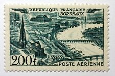 France PA Avion Num Yvert 25 ** MNH Vue de BORDEAUX  B4