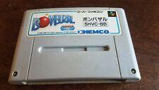 Bombuzal Super Famicom Japan game free shipping US SELLER 🇺🇸👍🏾 Rare Game 😊