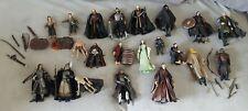 Lord Of The Rings Hobbit LOTR Toybiz Job Lot of Figures x 21
