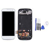 Für Samsung Galaxy S3 i9300 i9305 LCD Display Touch Screen Bildschirm mit Rahmen