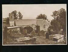 Cornwall FALMOUTH Mylor Church Used 1937 RP PPC