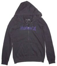 7ea08241f9f7 New Hurley Womens One And Only Full Zip Fleece Hoodie Small