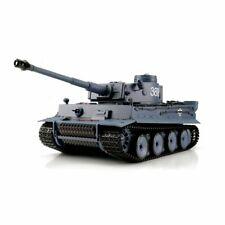 RC Panzer Tiger I 1:16 NEU V7.0 - TK7 Stahlgetriebe 6mm BB u IR Battle System