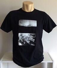 NIXON T Shirt - Black Surfboard California Supreme Logo Tee Punk Grunge Watch -M