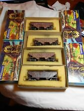 HO TRAIN 4 PACK ATHEARN 34' COMPOSITE SIDE HOPPERS SP & UP WEATHERED KDs