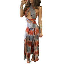 Sexy-Womens-Sleeveless-Bandage-Bodycon-Long-Evening-Party-Cocktail-Club-Dress