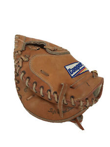 "Cooper LHT Catchers Mitt #224 10.5"" Black Diamond Series Glove Tanned Steerhide"