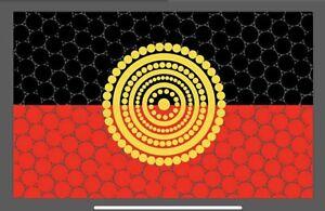 Aboriginal Flag Magnet ❤️💛🖤 Aboriginal Pride -  Very Popular Great Gifts