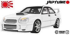Subaru WRX Impreza   - White with Factory Rims - JDM - JapTune Brand