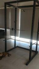 Rack Squat fitness RESISTENTE creato su misura, artigiano - per Allenamento pesi