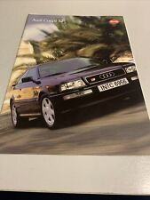 Audi Coupe S2 - Car sales brochure