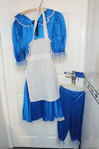 Ex Hire Ladies One Size Alice in Wonderland Dress Fancy Dress Outfit