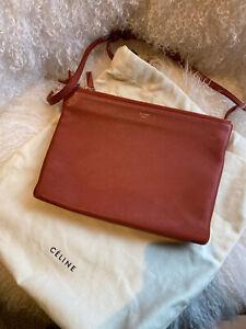 Celine trio bag, crossbody /shoulder / clutch bag. In really good condition.