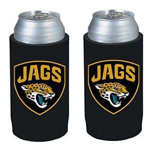 Jacksonville Jaguars NFL 2 pack Ultra Slim Koozie cooler hugger