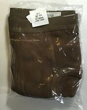 Mens Briefs (drawers) Size 28 Package of 3 pair Surplus new old stock cotton