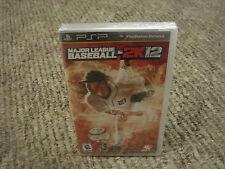 Major League Baseball 2K12  (PlayStation Portable, 2012)