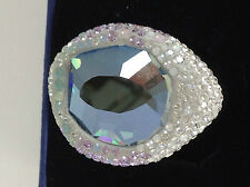 BRAND NEW Swarovski Hyacinth Pastel Ring  L / 8 / 58 AUTHENTIC GUARANTEED