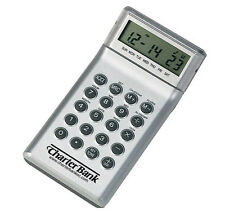 Tip-touch Calculator/time - White. Lot of 100 for $1.00 each.