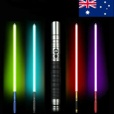 39 inch Alloy Metal Handle Lightsaber 100cm With RGB Sound Sword 1pcs