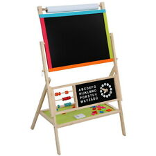 All-in-One Multifunction Wooden Kid's Art Education Easel with Accessories Us