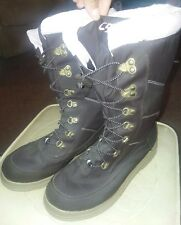 WOMENS CHAMPION C9 PINK Brown WINTER SNOW BOOTS SZ 9 COMFORTABLE FAUX FUR LINING