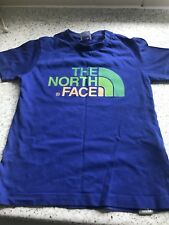 Boys North Face Tshirt Blue