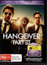 THE HANGOVER PART III - DVD R4 (2013) Bradley Cooper  Zach Galafanakis LIKE NEW