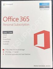 Microsoft Office 365 Home Subscription 1 Year Product Key 1PC/Mac + 1 Tablet