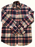 J.Crew Oxford Slim Fit Plaid Long Sleeve Shirt Pink Blue Button Up Medium