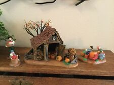 Dept 56 It'S Almost Thanksgiving New England Village Set Of 4 56.56639