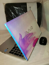 Cotton Candy Sony Vaio T Series Touchscreen 1tb 8gb Windows 10 i7 2.0GHz Office