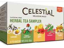 Celestial Seasonings Herbal Tea Sampler with 5 Flavors 18 ea