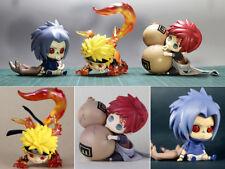 3pcs Naruto Shippuuden Uzumaki Naruto Uchiha Sasuke Gaara Chan Figuren Figur