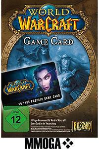 WoW Gamecard 60 Tage Spielzeit Sofortversandt - WOW EU TimeCard Code PC - EU*