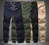 Casual Jogger dance Harem Pants Slacks Baggy Cargo Trousers Mens Sweatpants