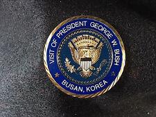 Authentic Visit of Pres. GW Bush '05 APEC Korea Coin  -42